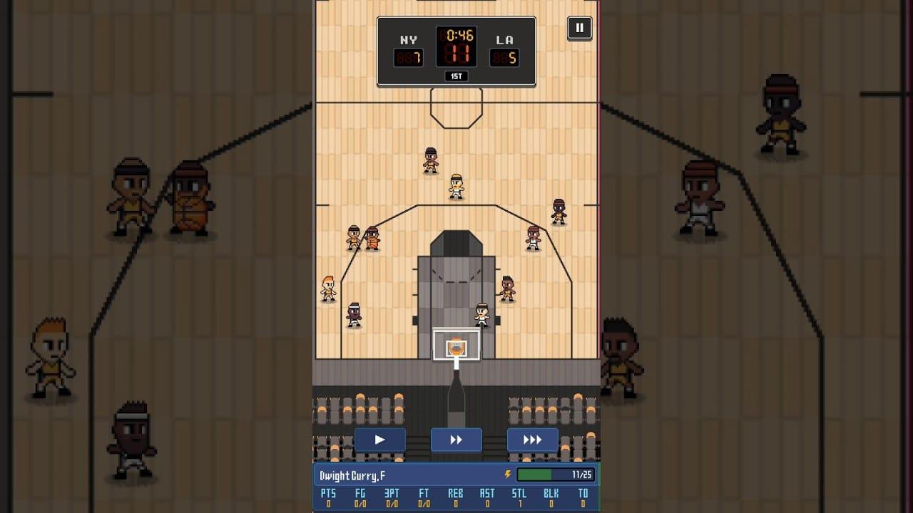 Hoop Leauge Tactics match