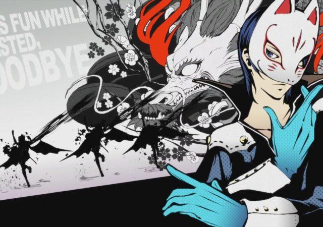 Persona 5 Scramble: The Phantom Strikers - Fox Finisher