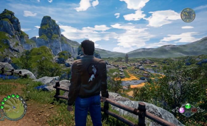 Shenmue III paysages