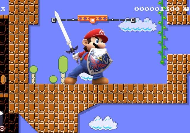 Super Mario Maker 2 - Mario à l'épée