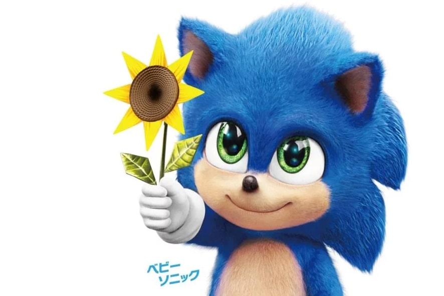 sonic le film bébé Sonic