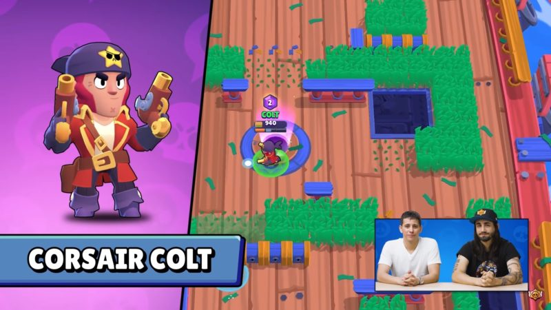 colt brawl stars skin pirate
