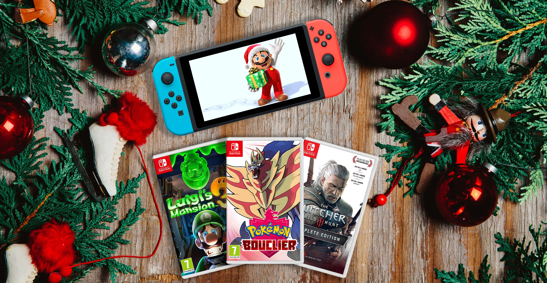 guide jeux switch noël 2019