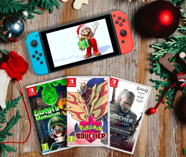 guide jeux switch noël 2019