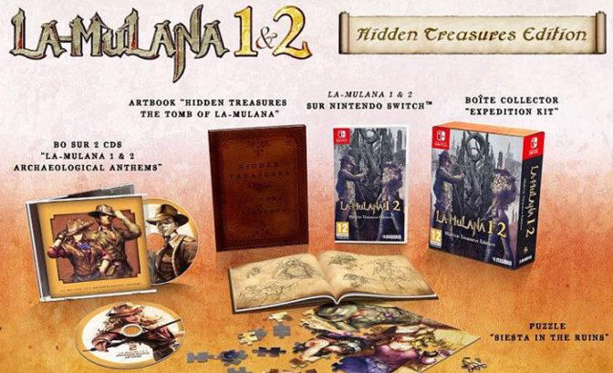la mulana 1 & 2 edition collector sur nintendo switch, xbox one