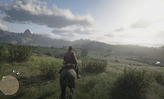 graphismes du jeu red dead redemption 2 de nombreux paysages et de gros effets