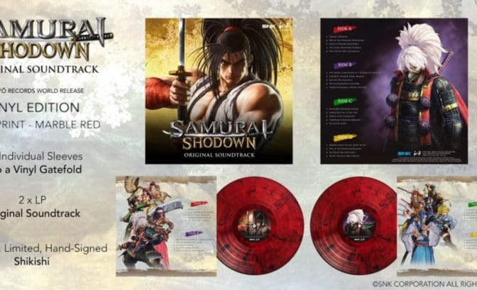 samurai shodown OST - vinyle