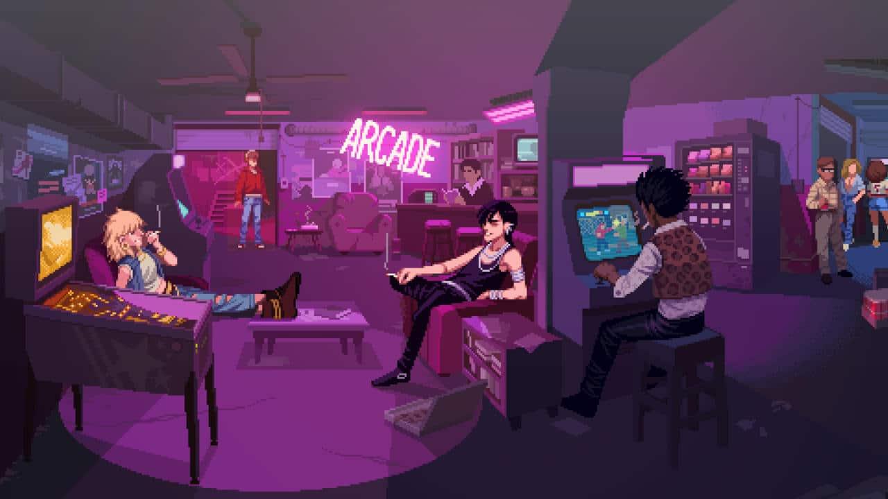 198X salle d'arcade