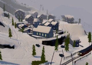 Grand Mountain Adventure village enneigé