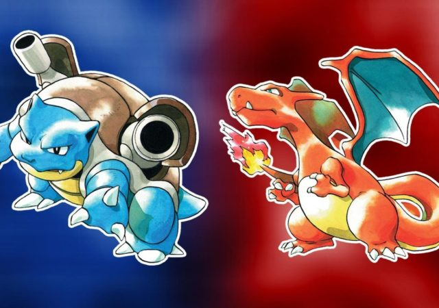 Jeux Pokémon Rouge et Pokémon Bleu