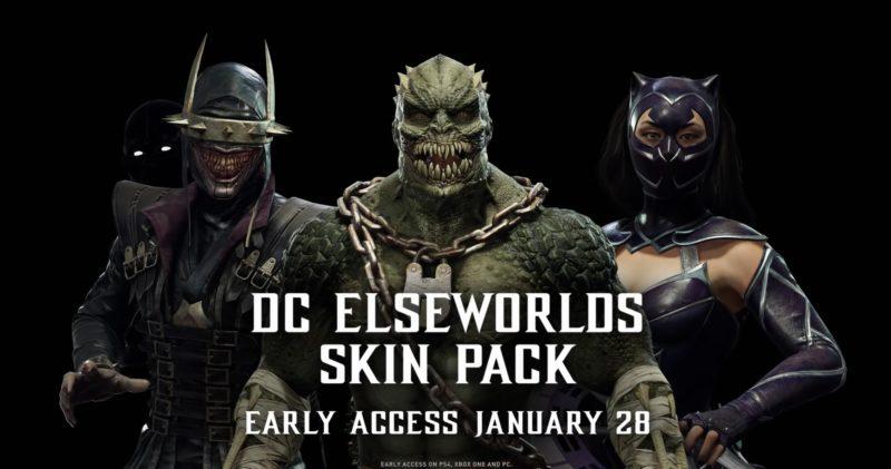Mortal Kombat 11 - Costumes DC