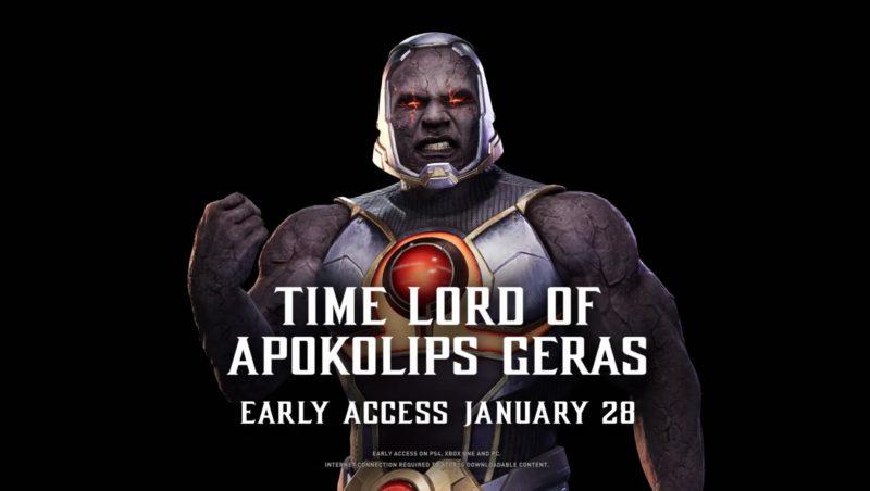 Mortal Kombat 11 - Darkseid Geras