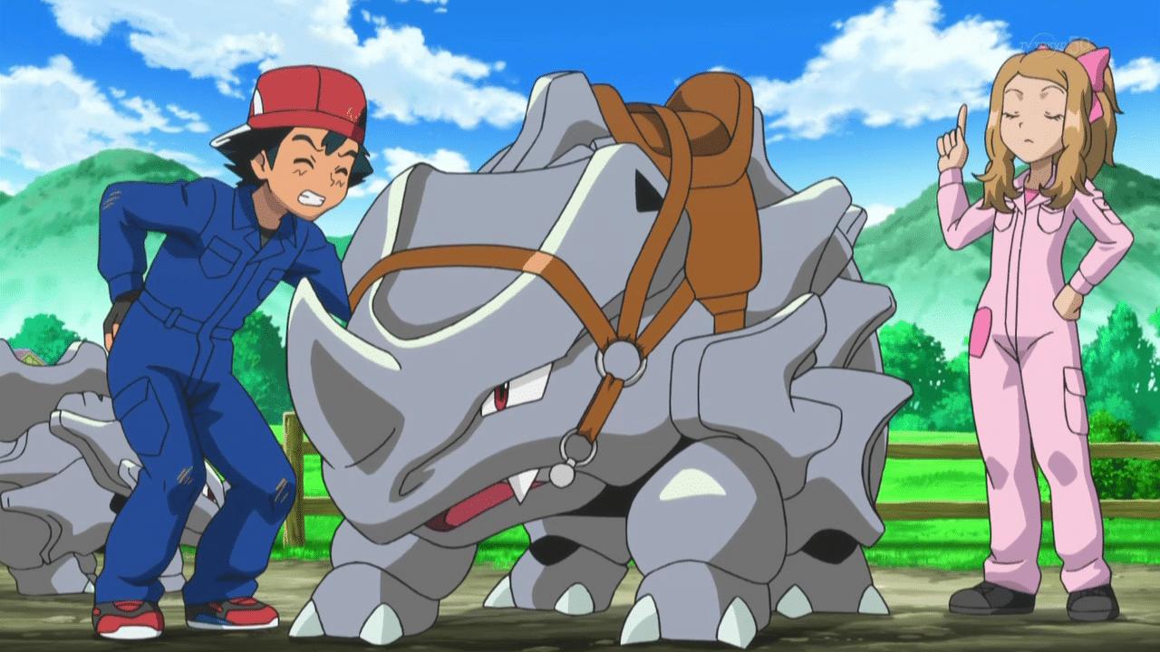 Pokémon GO - Rhinocorne please