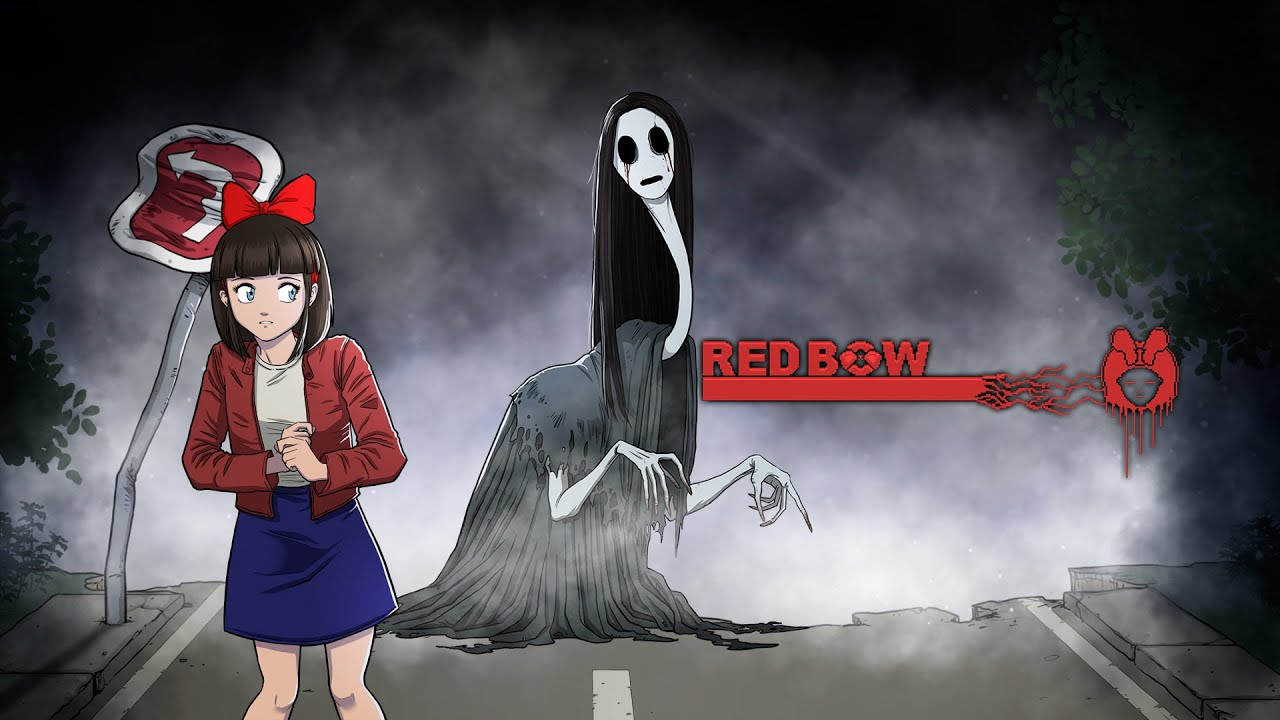Red Bow fille fantôme