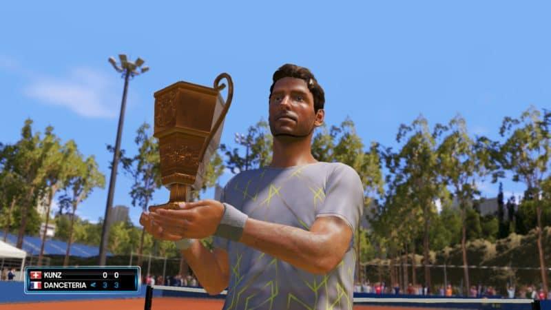 AO Tennis 2 - Victoire