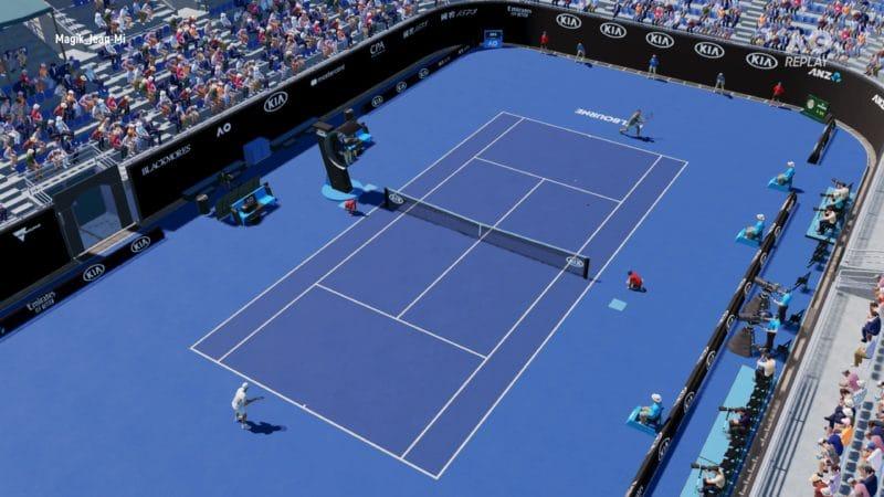AO Tennis 2 - match en ligne