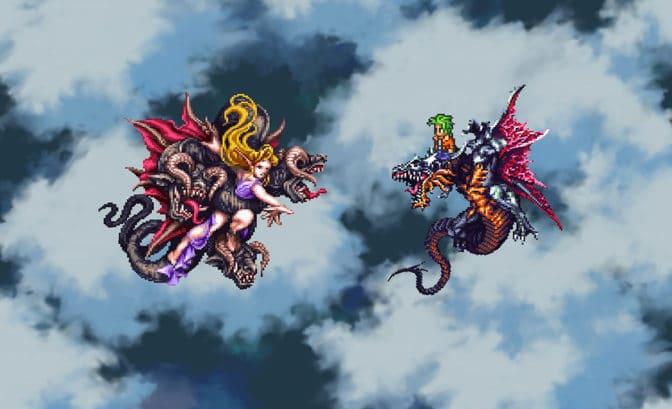 Test Romancing Saga 3 - Dragon