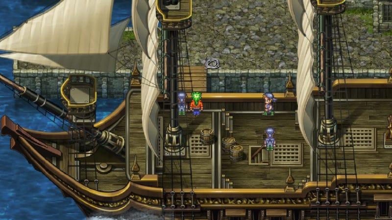 Test Romancing Saga 3 - Voyage en bateau