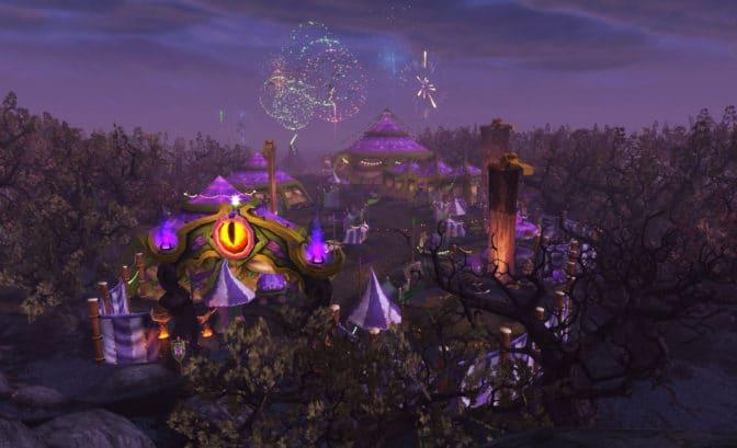 World of Warcraft Classic foire de sombrelune