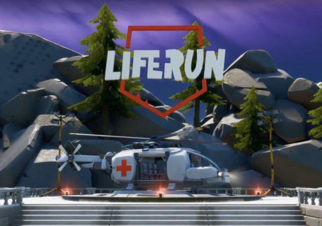 Fortnite Liferun logo