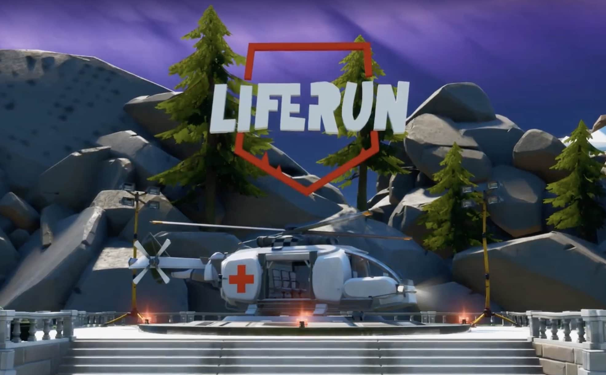 Fortnite Liferun logo