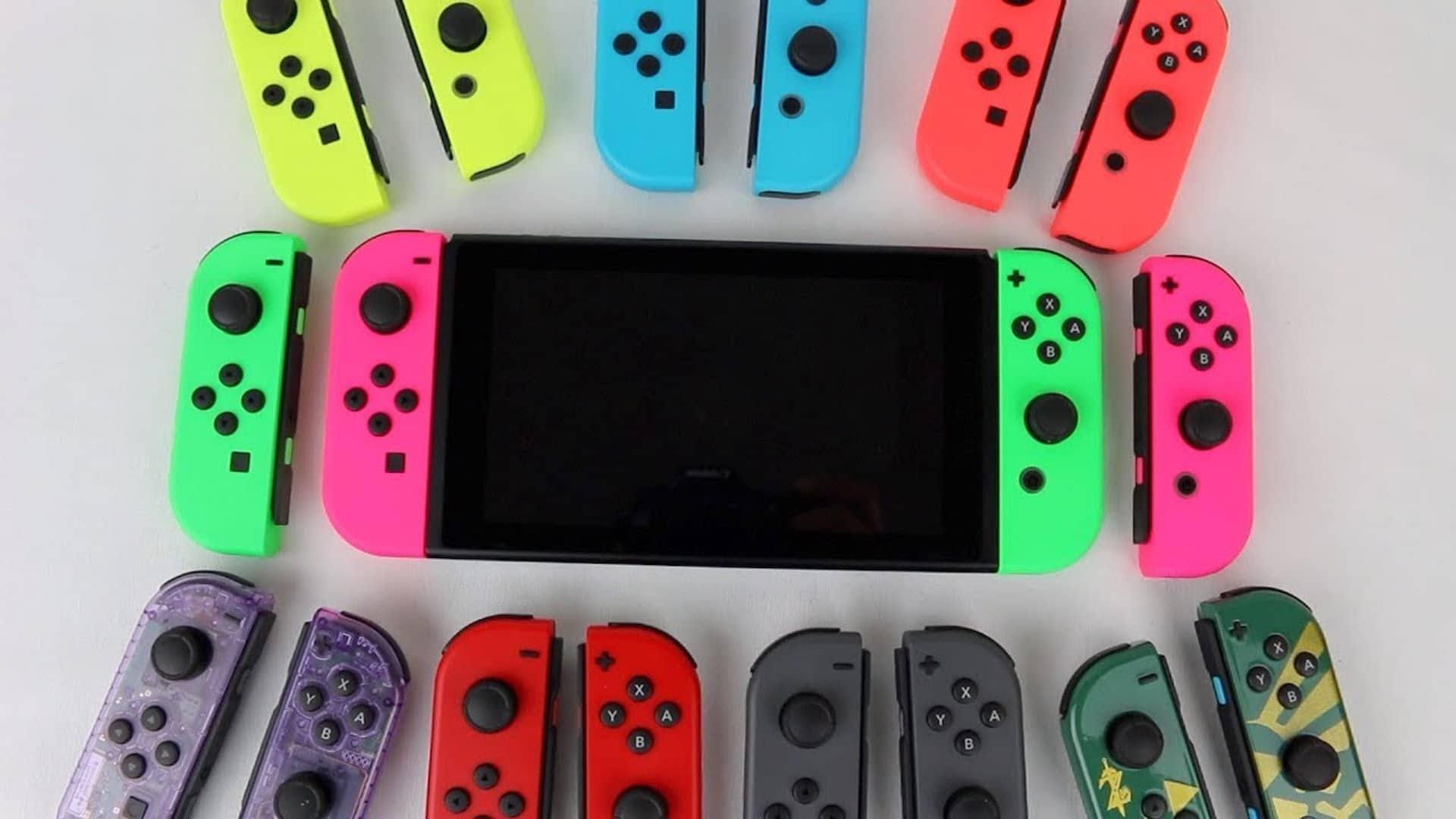 Nintendo Switch et ses joy-con