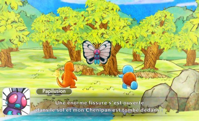 chenipan pokemon donjon mystere
