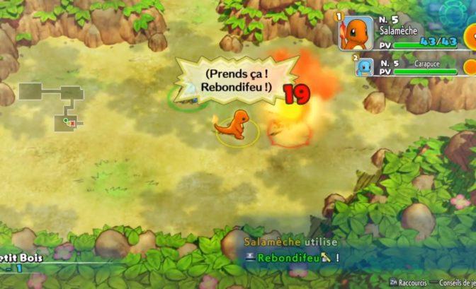 gameplay pokemon donjon mystere switch combats