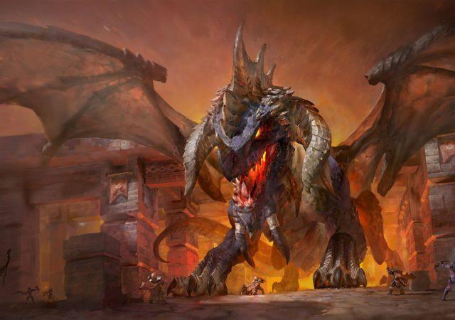 World of Warcraft Classic Nefarian artwork