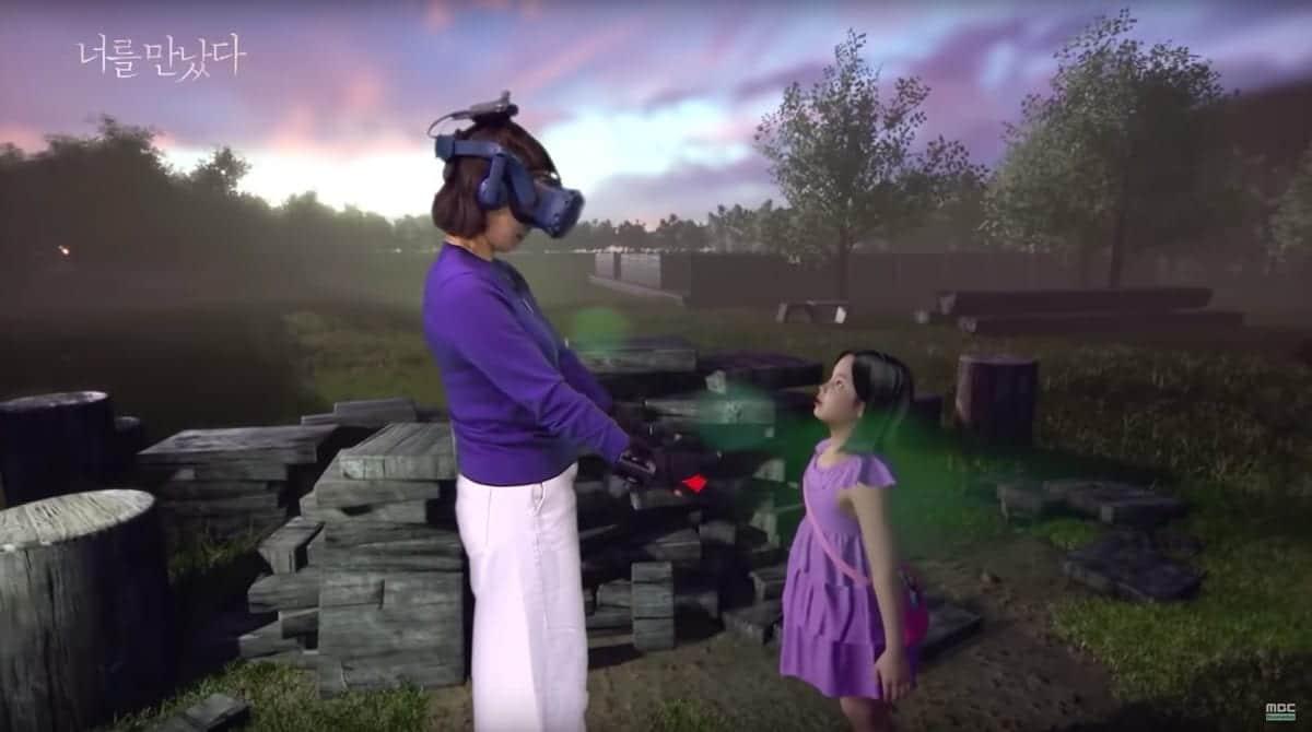Grâce à la réalité virtuelle, cette mère peut voir et parler avec sa fille décédée