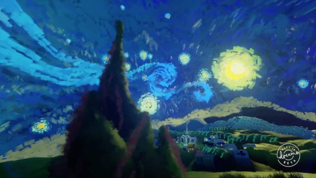 Création du jeu Dreams sur PS4