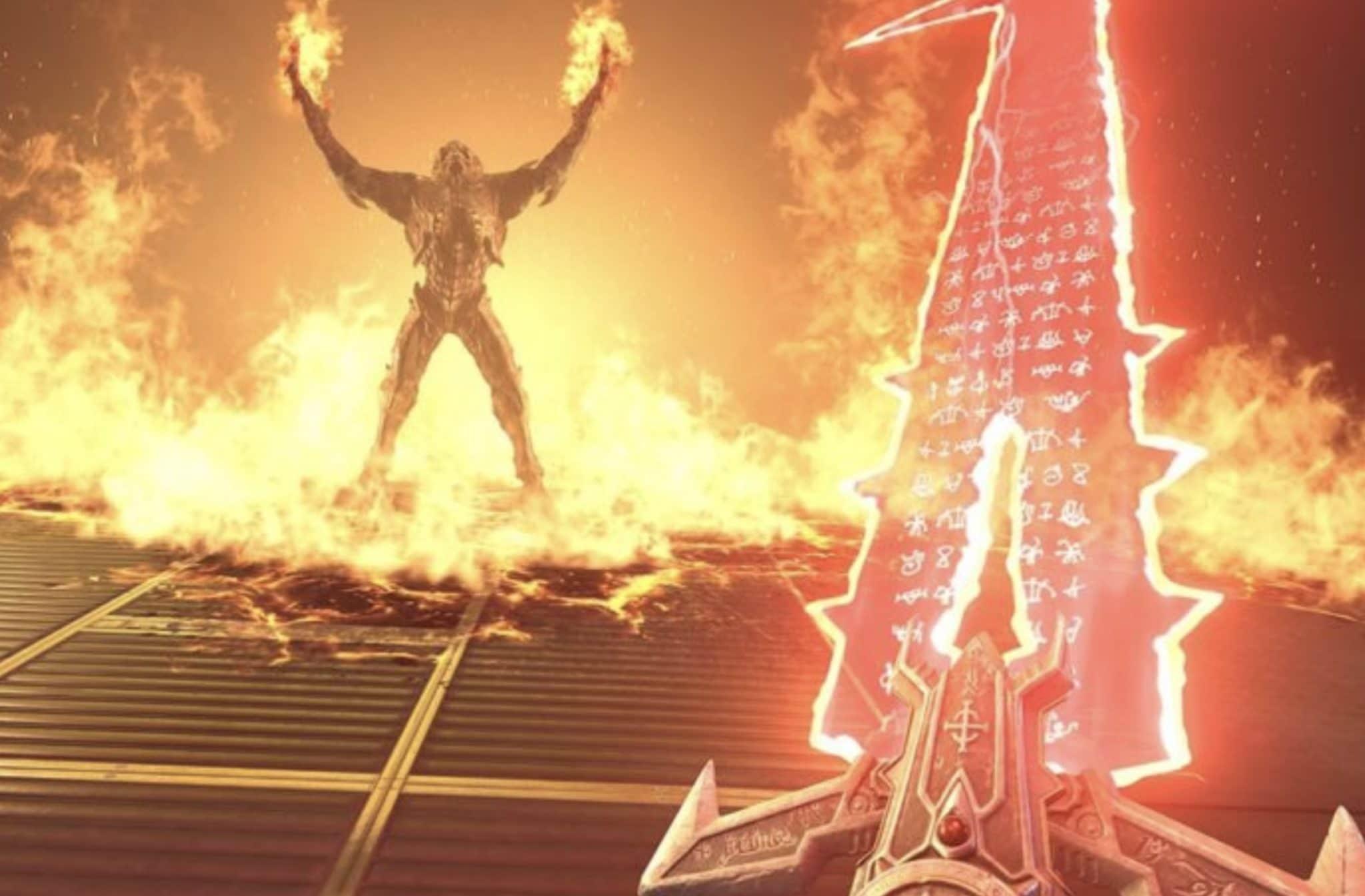 Doom Eternal Sword