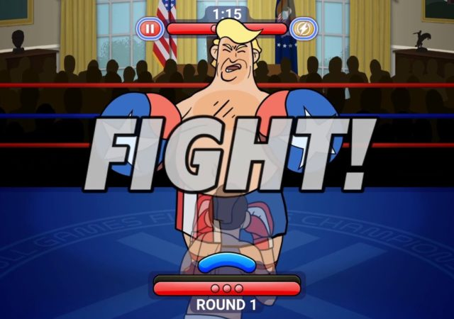Election Year Knockout parodie Trump