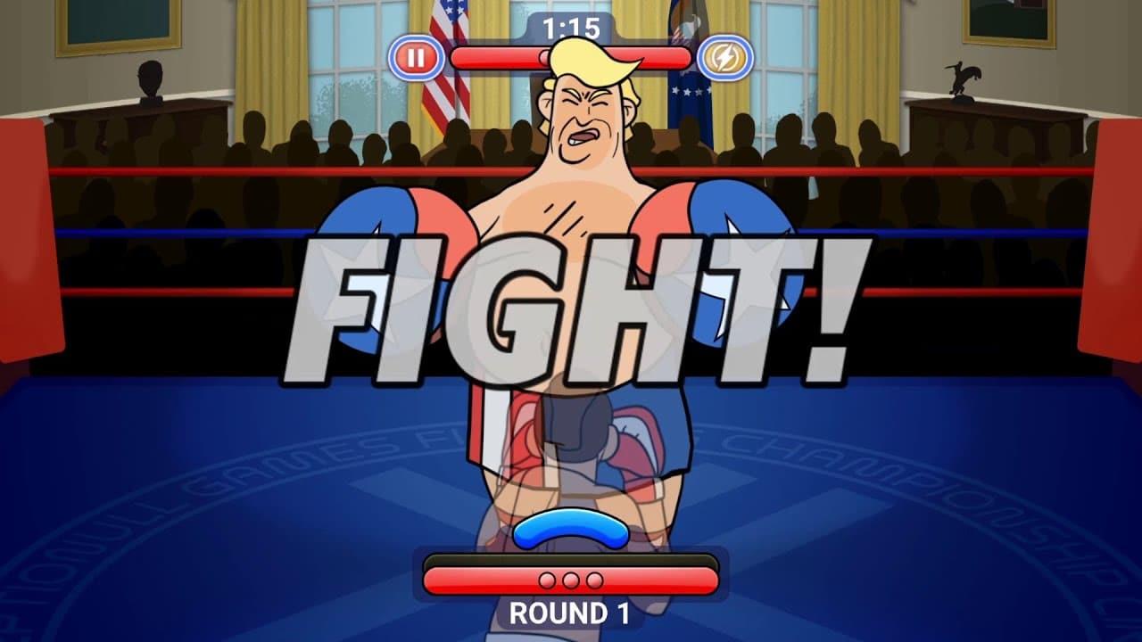 Election Year Knockout parodie Trump