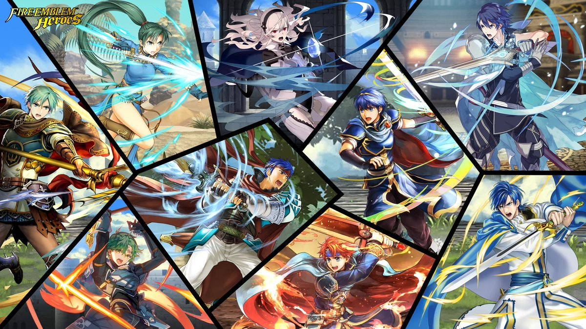 Fire Emblem Heroes - Des héros