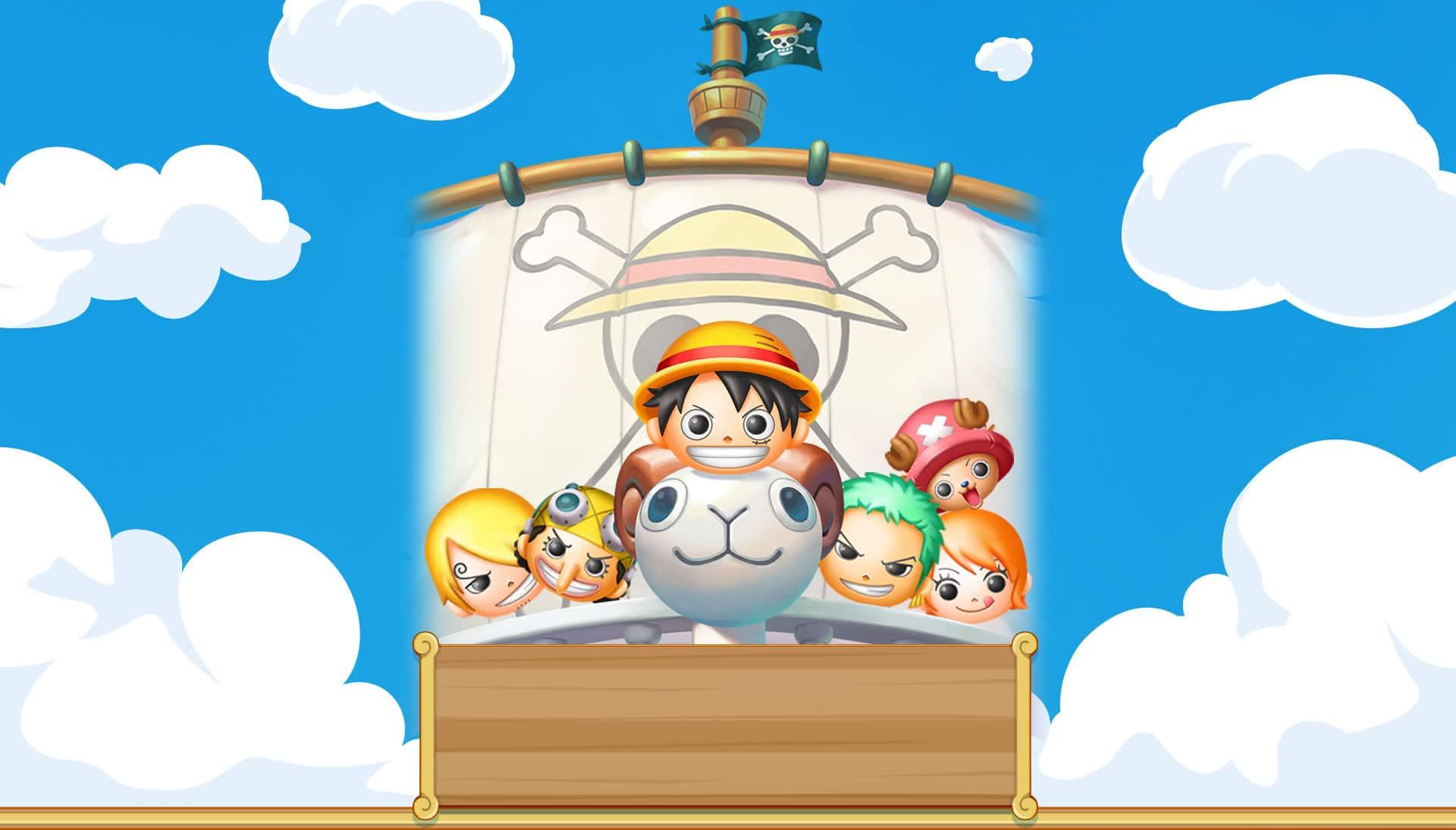 One Piece Bon! Bon! Journey!! équipage