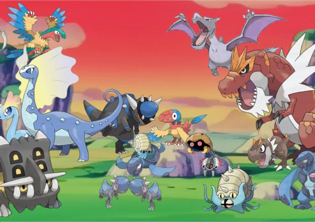 Pokémon GO - Les fossiles