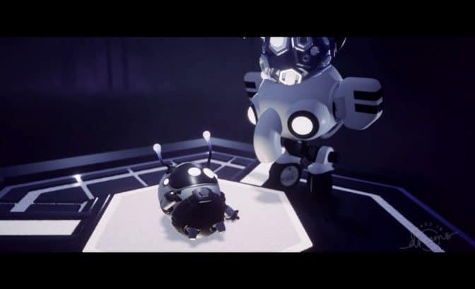 Dreams reve d'art Robot