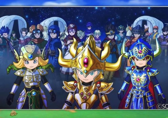 Dragon Quest of the Stars - Des héros