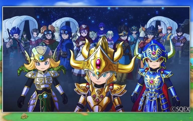 Dragon Quest of the Stars - Des héros