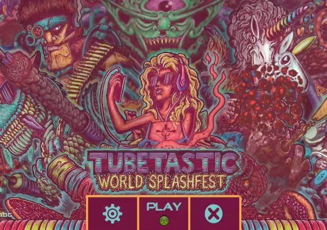 Tubetastic: World Splashfest logo