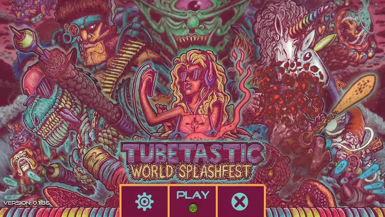 Tubetastic: World Splashfest logo