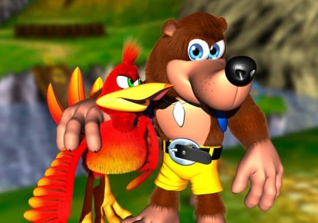 Banjo et Kazooie du jeu éponyme