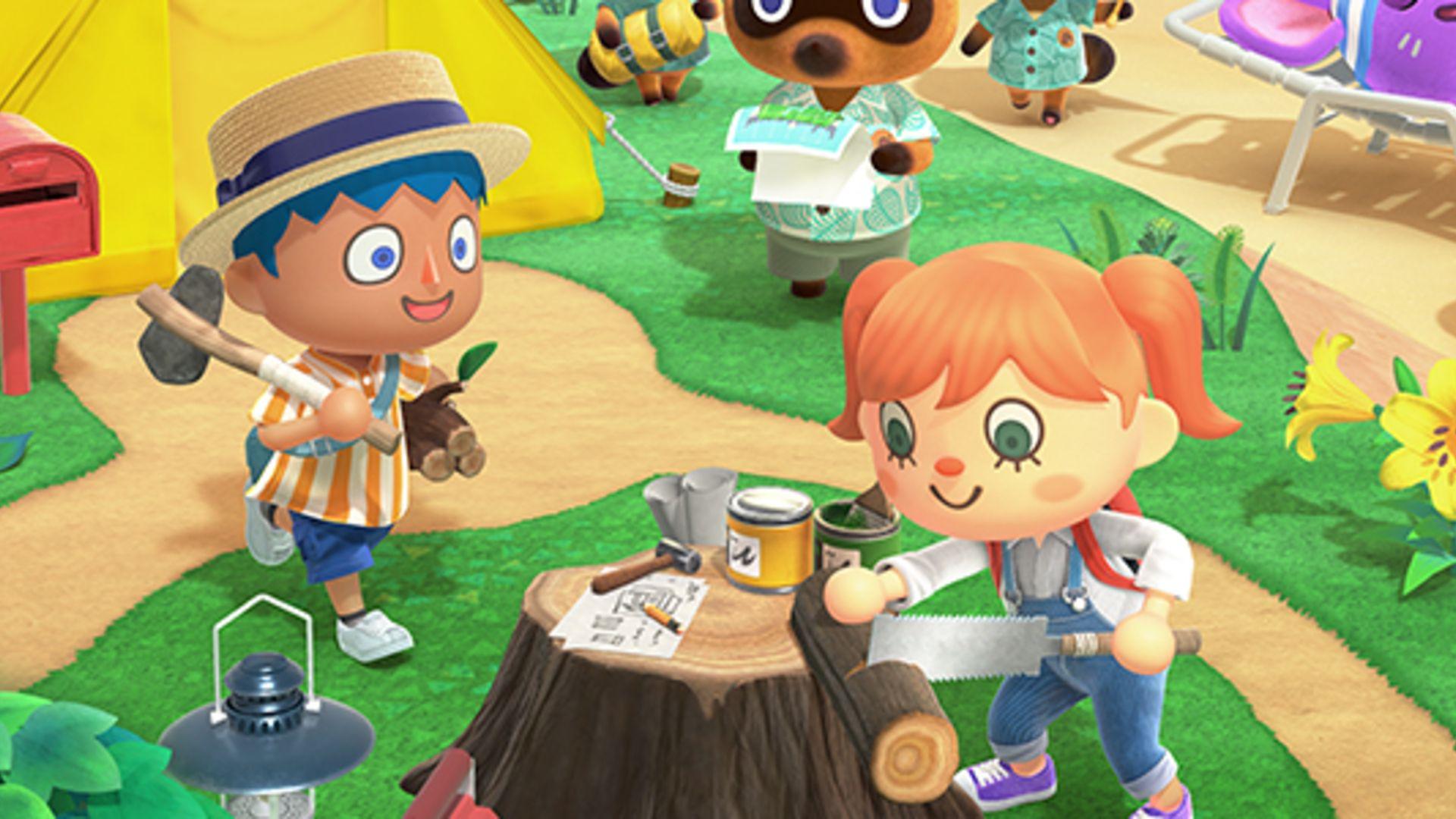 Animal Crossing: New Horizons - Bricolage