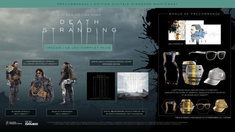 Edition Standard du jeu Death Stranding sur PC