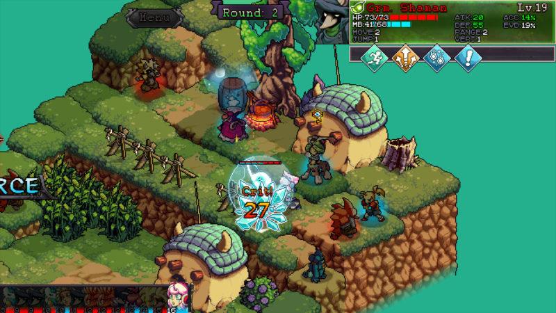 Fae Tactics - combat au cœur d'un charmant village