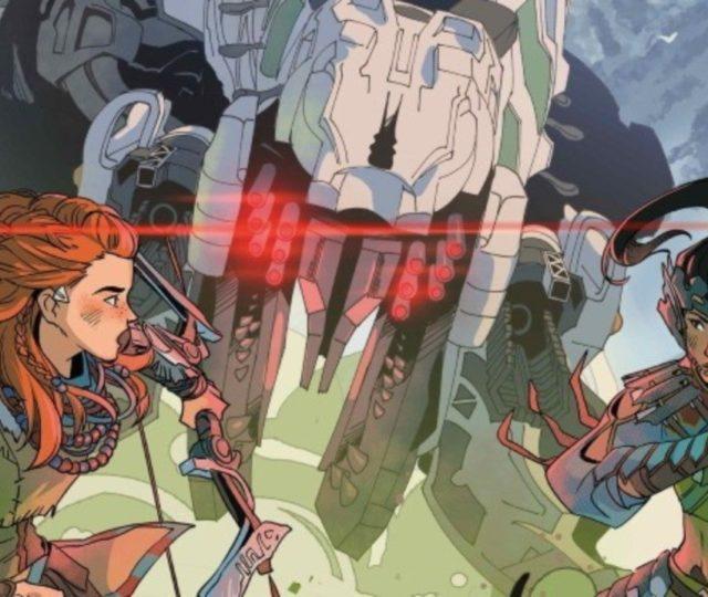 une série de comics Horizon Zero Dawn est annoncée