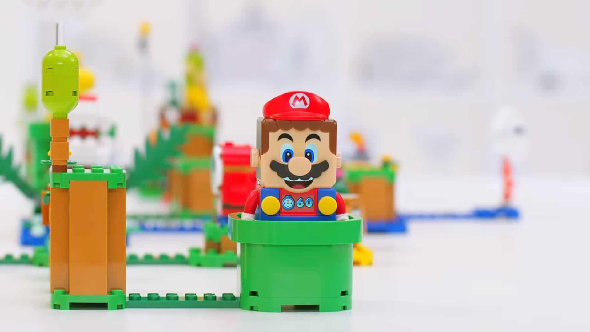 Lego Super Mario - Mario en briques