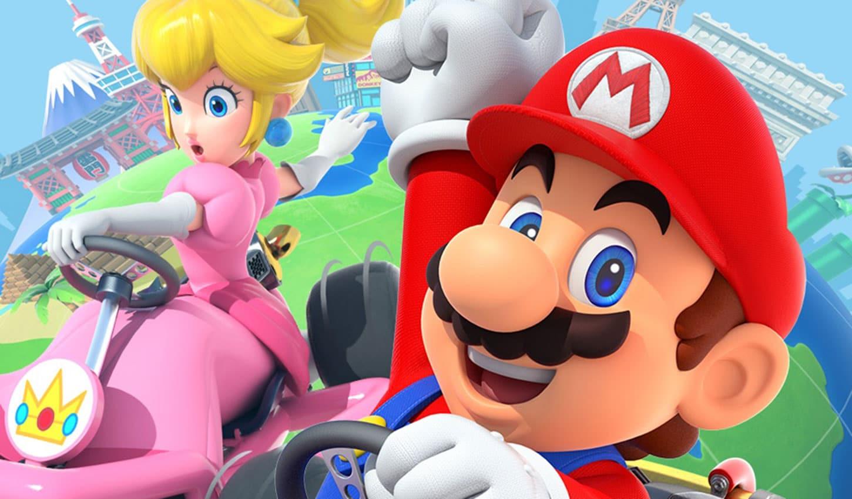 Mario Kart Tour - Combat entre copains