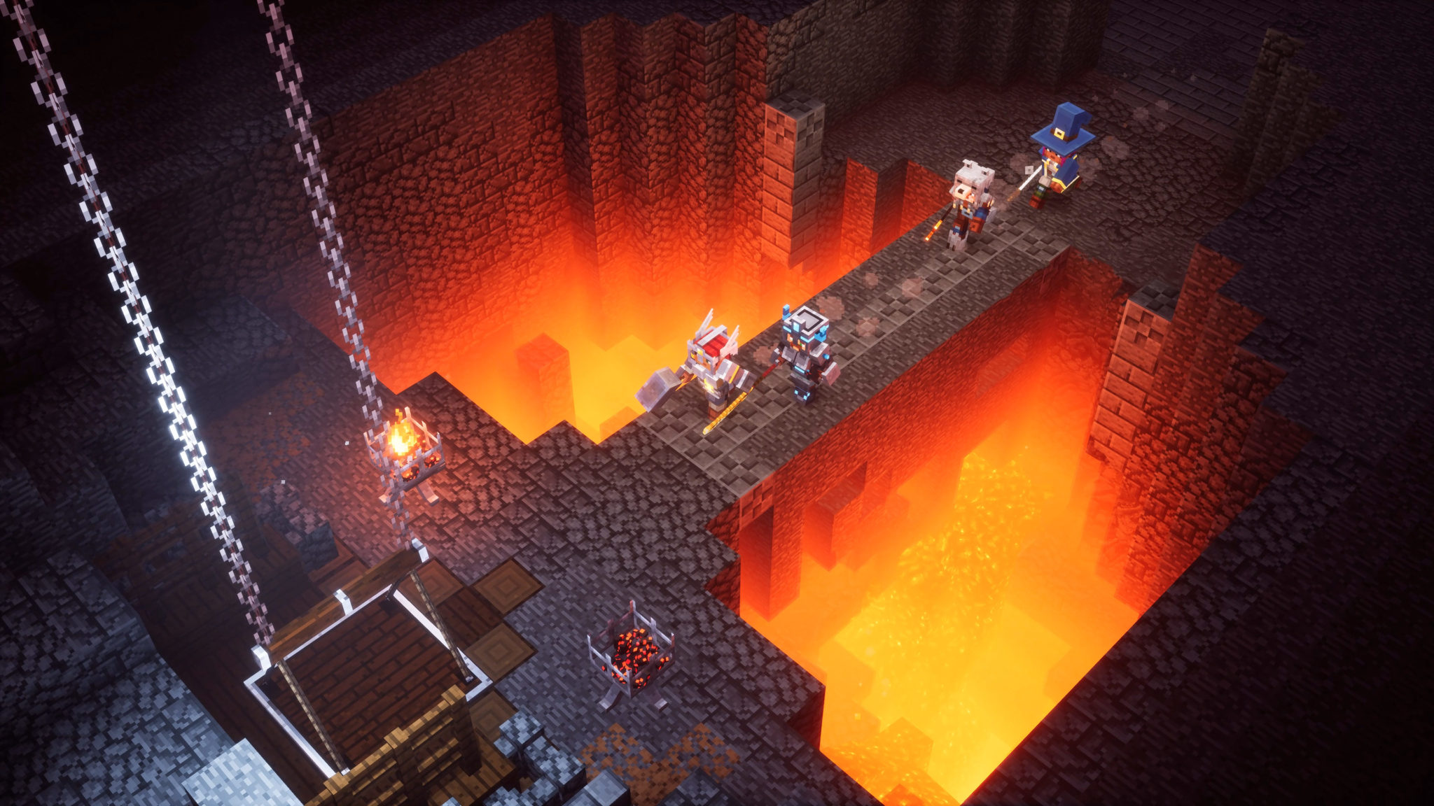Minecraft Dungeons Diablo Like